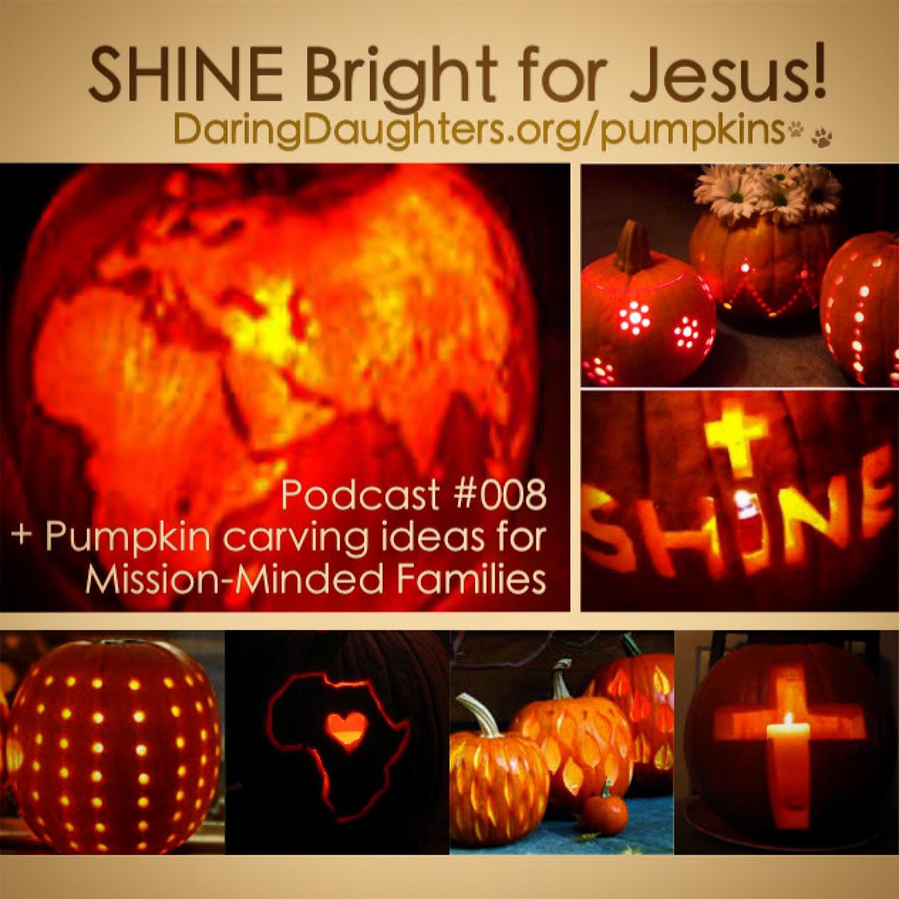 50 Pretty Pumpkin Carving Ideas: Christian, Cross, Faith, Missions ...